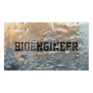 Cool Frozen Ice Bioengineer Business Card