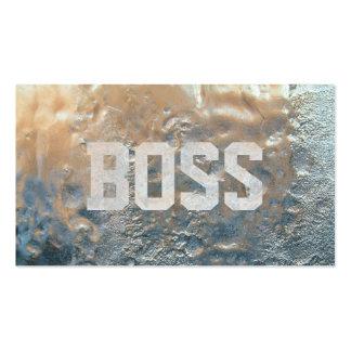 Cool Frozen Ice Boss Business Card
