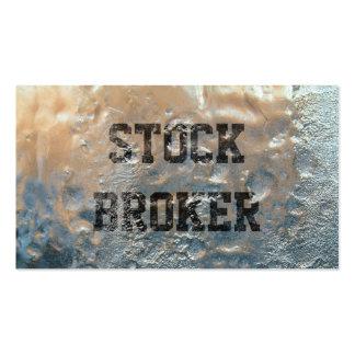 Cool Frozen Ice Stock Broker Business Card