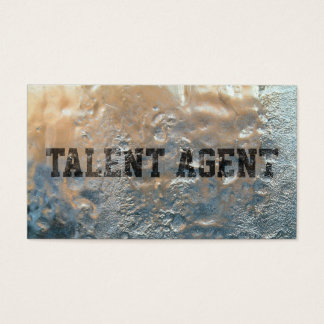 Cool Frozen Ice Talent Agent Business Card