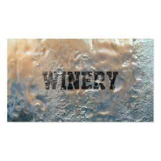 Cool Frozen Ice Winery Business Card
