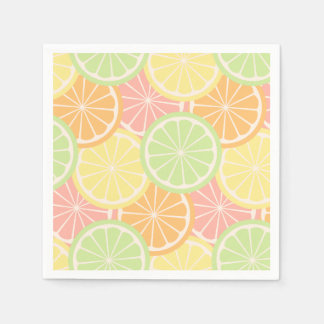 Cool Fruity Summer Birthday Party Supplies Paper Napkin