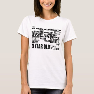 Cool Fun 21st Birthday Party Greatest 21 Year Old T-Shirt