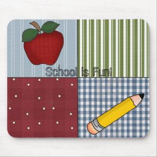 Cool Fun Back to School Custom Mousepad