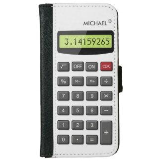 Cool Fun Calculator - Math Pi Number Digits iPhone 6/6s Wallet Case