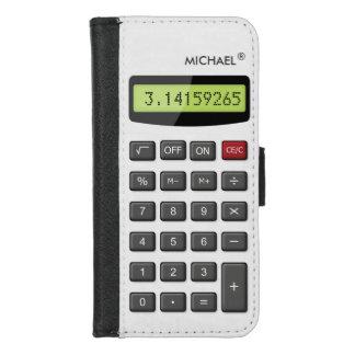 Cool Fun Calculator - Math Pi Number Digits iPhone 8/7 Wallet Case