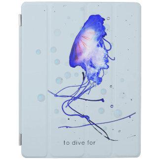 Cool Fun Scuba Diving Snorkeling Jellyfish iPad Smart Cover