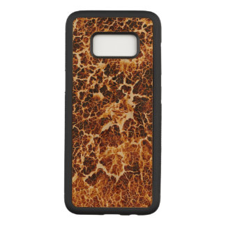 Cool Fun Unique Pattern Carved Samsung Galaxy S8 Case