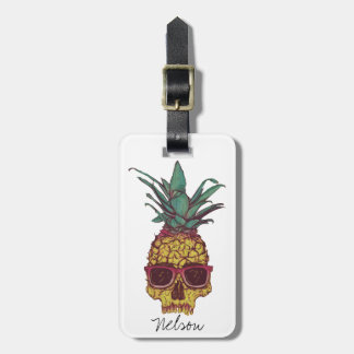 Cool Funky Geek Pineapple Punk Custom Color Tags For Luggage