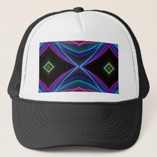 Cool Funky Neon Fluorescent Colored Pattern Trucker Hat