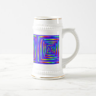Cool Funky Rainbow Maze Rolling Circle Spheres Des Beer Stein