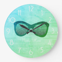 Cool Funky Shades  Add Name Clock