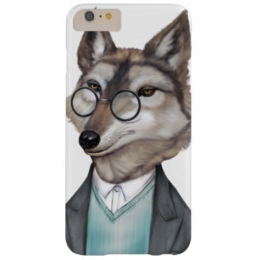 COOL FUNNY FOX FACE ANIMAL PRINT DESIGN BARELY THERE iPhone 6 PLUS CASE
