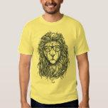Cool Funny Hipster Lion Men's T-Shirt