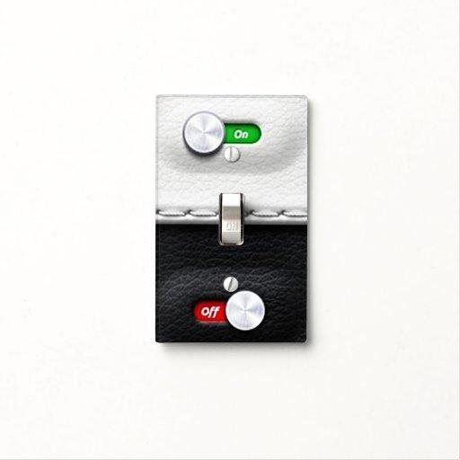Cool Futuristic Toggle On Off Light Switch Plates Zazzle