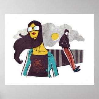 Cool Gal, Cool Guy, Cool Print