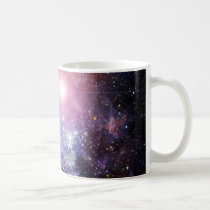 cool, nebula, galaxy, unique, geek, stars, nerd, funny, cosmology, beautiful, astronomy, universe, galaxies, supernova, cute, pink, blue, purple, geeky, colorful, space, mug, Caneca com design gráfico personalizado