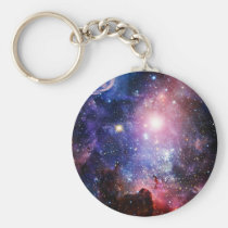 cool, nebula, galaxy, unique, geek, stars, nerd, funny, cosmology, beautiful, astronomy, universe, galaxies, supernova, cute, pink, blue, purple, geeky, colorful, space, keychain, Keychain with custom graphic design