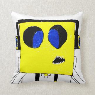 Cool Gamer Boy Genius - Cartoon Pillow Cushion