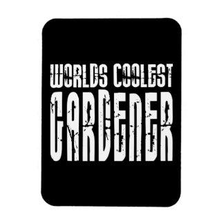 Cool Gardeners : Worlds Coolest Gardener Rectangle Magnets