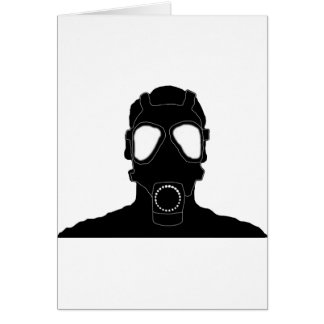 cool gas mask card