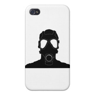 cool gas mask iPhone 4 cover