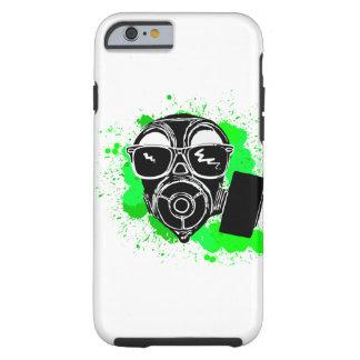 Cool gasmask tough iPhone 6 case