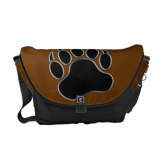Cool Gay Bears Pride Bear Paw Courier Bag