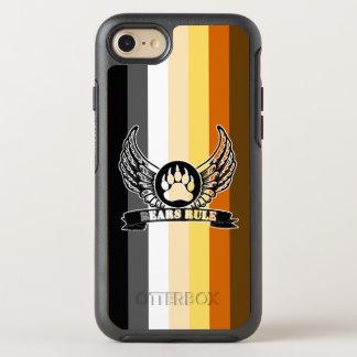 Cool Gay Bears Pride Flag Bears Rule Bear Paw OtterBox Symmetry iPhone 7 Case