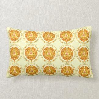 Cool Geek Art Crop Circle Pattern Decorator Pillow