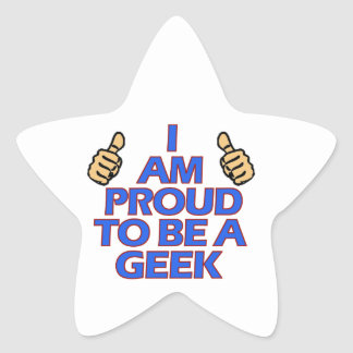 cool geek designs star sticker