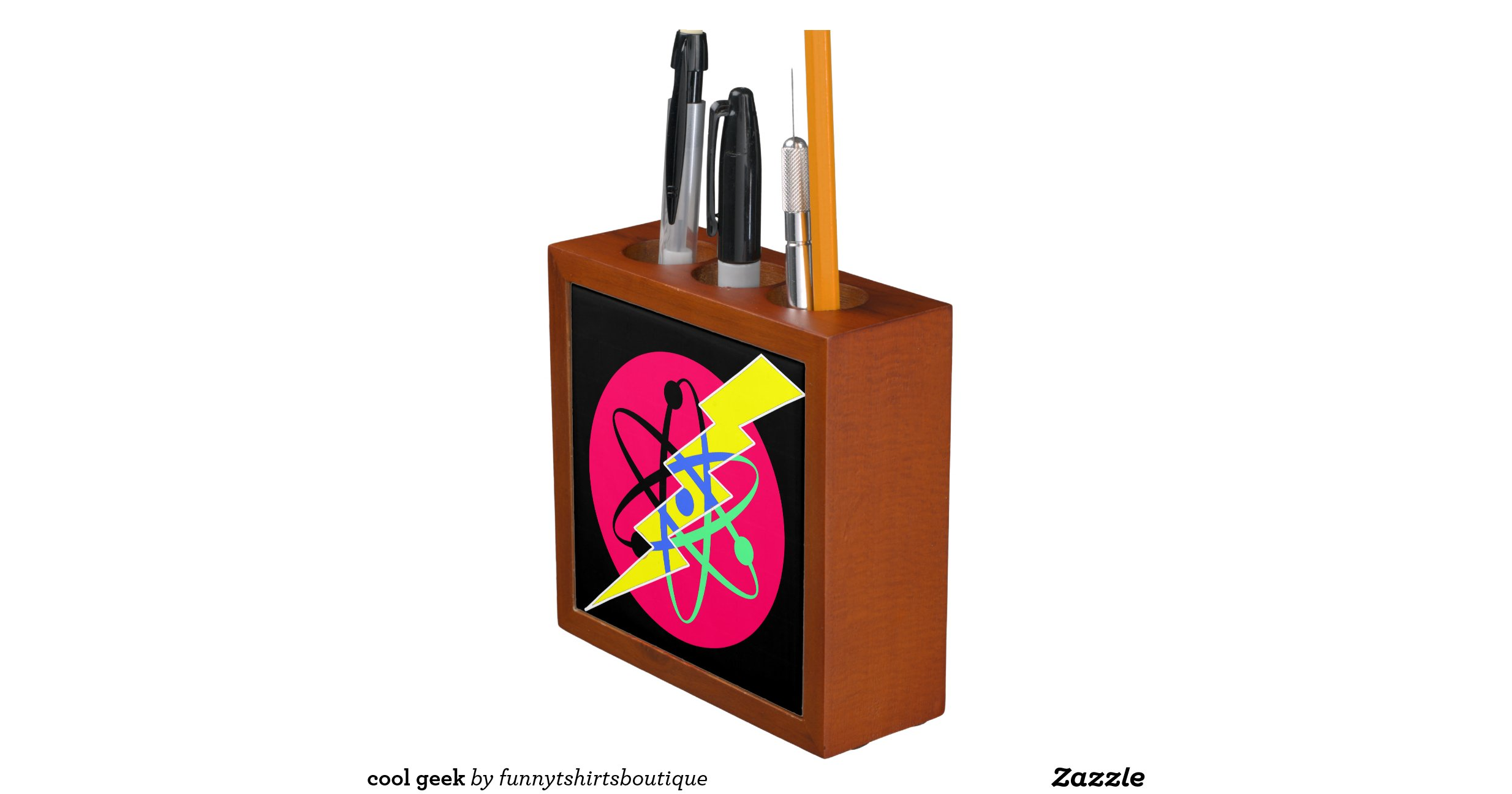 Cool Geek Desk Organizer Zazzle