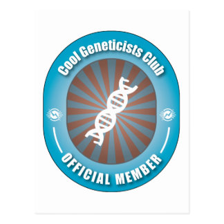 Cool Geneticists Club Postcard