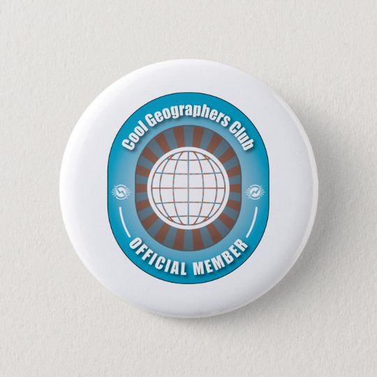 Cool Geographers Club Button