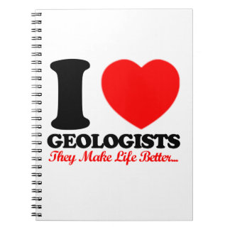 cool geologists designs notebook
