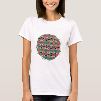 Cool Geometric Aztec Pattern T-Shirt