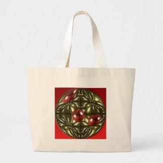 Cool Geometric Design Large Tote Bag