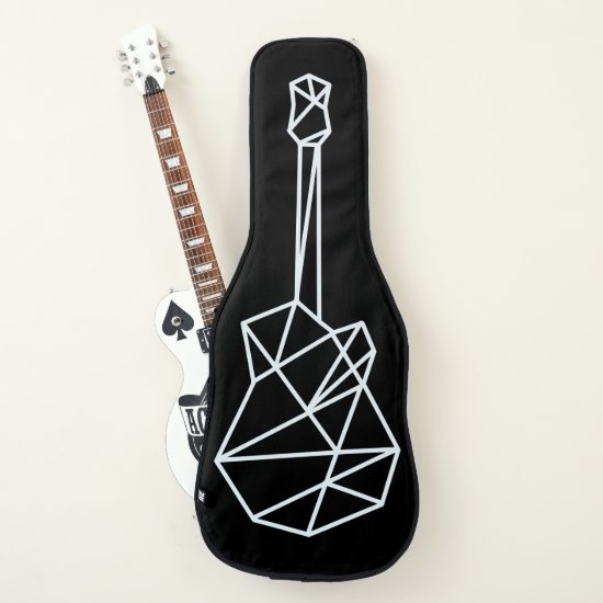 cool geometric guitar case for stylish guitarists