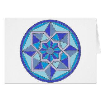 Cool Geometric Pattern Card