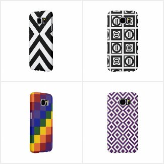 Cool Geometric Samsung Galaxy S6 Cases