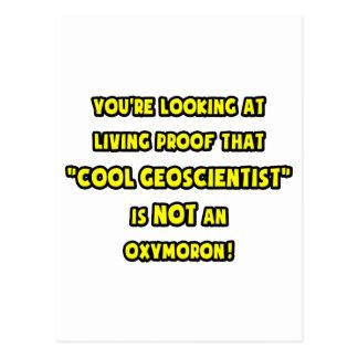 Cool Geoscientist Is NOT an Oxymoron Postcard