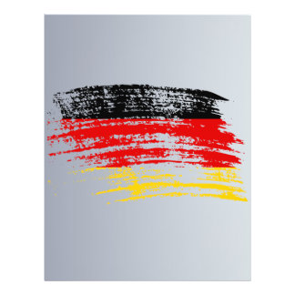 Cool German flag design Flyers