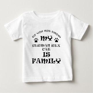 Cool german rex CAT designs Baby T-Shirt