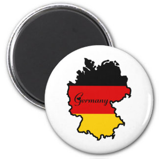 Cool Germany 2 Inch Round Magnet