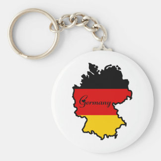 Cool Germany Basic Round Button Keychain