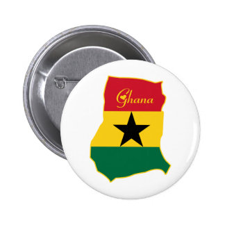 Cool Ghana Pinback Button