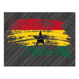 Cool Ghanaian flag design Postcard