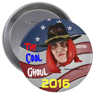 Cool Ghoul Campaign Button