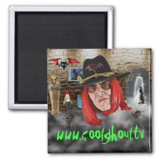 Cool Ghoul Refrigerator Magnet