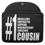 Cool Gifts for Cousins : Number One Cousin Sleeves For MacBook Pro